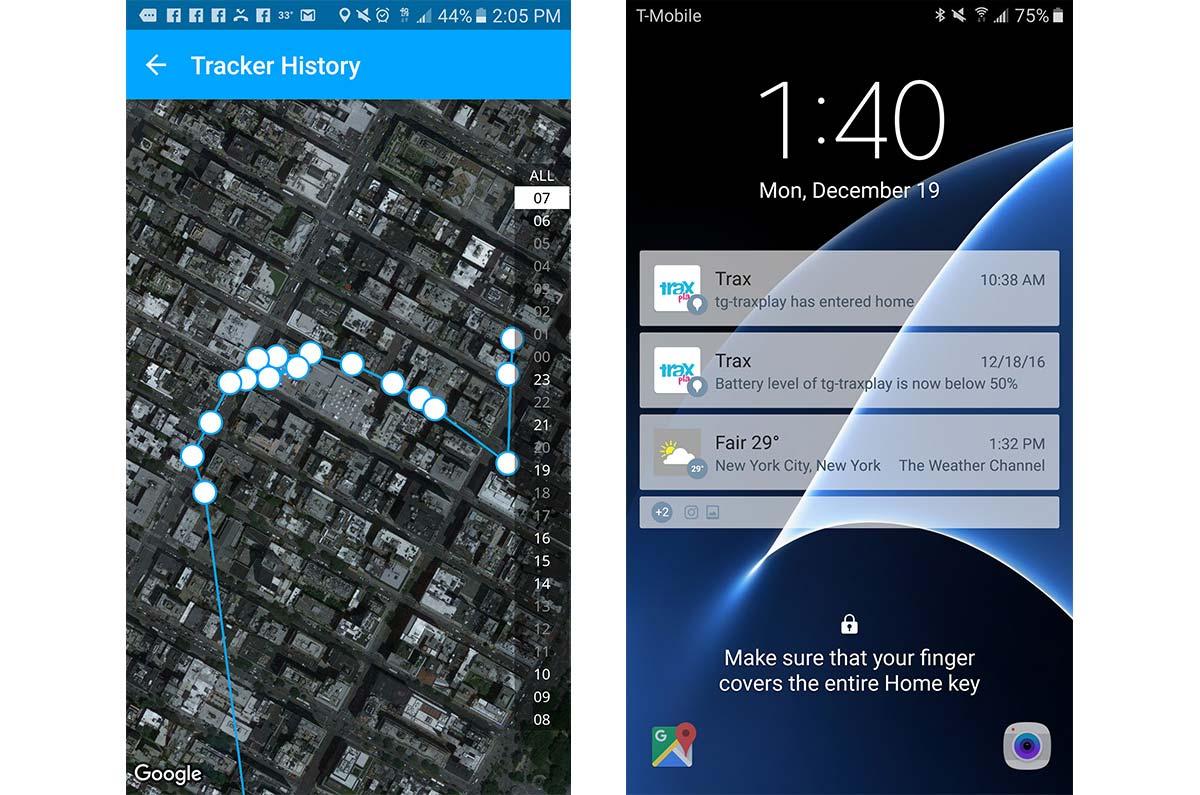 Детский GPS tracker для путешествий